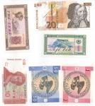 reverse: Banconote Estere. Vari Stati. Lotto 16 pezzi. Tutte FDS tranne 3.