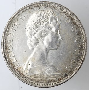 obverse: Monete Estere. Canada. Dollaro 1967. Ag. Peso 23,42 gr. BB+.