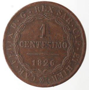 reverse: Casa Savoia. Vittorio Emanuele II. 1859-1861.Bologna. Centesimo 1826.Ae.M.133. BB. R.