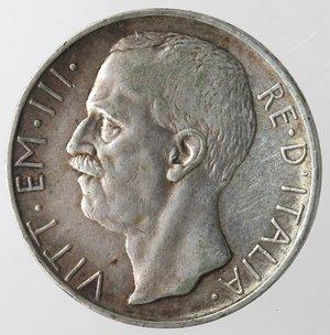 obverse: Casa Savoia. Vittorio Emanuele III. 1900-1943. 10 lire 1929 Biga Una rosetta. Ag. Gig 58. BB. R.