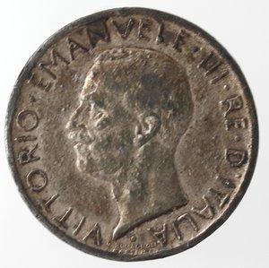 obverse: Casa Savoia. Vittorio Emanuele III.1900-1943.5 Lire 1927 Aquilino. MB. Gig. 74.BB. Falso d epoca.