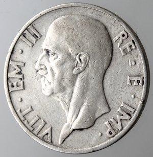 obverse: Casa Savoia. Vittorio Emanuele III. 1900-1943. 5 lire 1937 Famiglia. Ag. Gig. 84.BB+. R.
