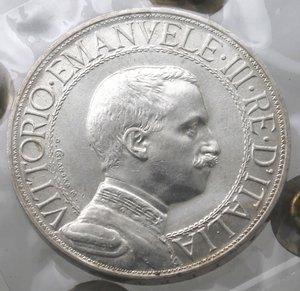 obverse: Casa Savoia. Vittorio Emanuele III. 1900-1943. 2 lire 1910. Quadriga Briosa. Ag. Gig. 97.FDC Ezzezionale. Perizia Testa. R.