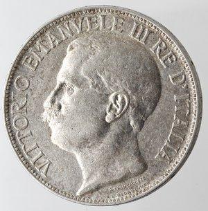 obverse: Casa Savoia. Vittorio Emanuele III. 1900-1943. 2 lire 1911 Cinquantenario. Ag. Gig. 100. BB+.