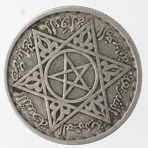 reverse: Monete Estere. Marocco. 100 Franchi 1953. Ag. Km E52. Peso. gr. 3,95. SPL.