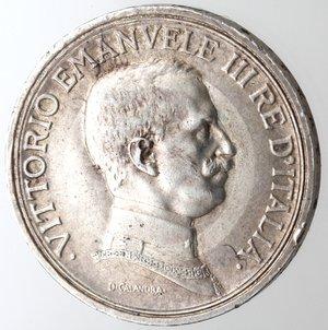 obverse: Casa Savoia. Vittorio Emanuele III. 1900-1943. 2 lire 1916 Quadriga Briosa. Ag. Gig. 103. BB+.