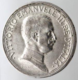 obverse: Casa Savoia. Vittorio Emanuele III. 1900-1943. 2 lire 1917 Quadriga Briosa. Ag. Gig. 104. qSPL. NC.