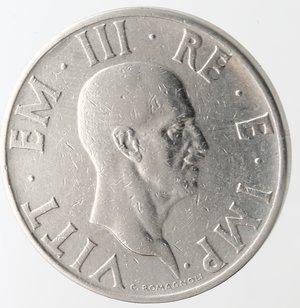 obverse: Casa Savoia. Vittorio Emanuele III. 1900-1943.2 lire 1936 anno XIV Impero. Ni. Gig. 118.SPL. R.