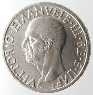 obverse: Casa Savoia. Vittorio Emanuele III. 1900-1943.Lira Impero 1936 anno XIV Impero. Ni. Gig. 118.qFDC. R.