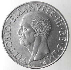 obverse: Casa Savoia. Vittorio Emanuele III. 1900-1943.Lira Impero 1942 anno XX Magnetiche. Ac. Gig. 158.FDC.