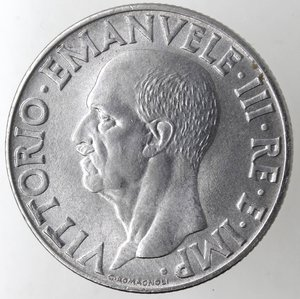 obverse: Casa Savoia. Vittorio Emanuele III. 1900-1943. Lira Impero 1943 anno XXI. Ac. Gig. 159.SPL+. R.