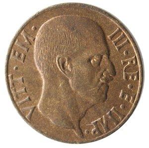obverse: Casa Savoia. Vittorio Emanuele III. 1900-1943.5 Centesimi 1942 Anno XX. Impero. Ae. Gig. 291. FDC. Rame rosso.