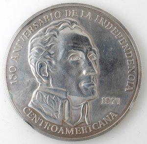 obverse: Monete Estere. Panana. 20 Balboa 1971. Ag 925. Peso 129,00 gr. SPL.