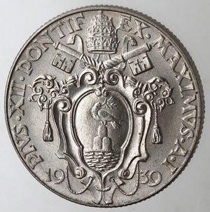 obverse: Vaticano.Pio XII. 1939-1959.50 centesimi 1939 A. I.Gig. 203. NI. FDC. Segnetti da contatto.