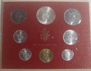 obverse: Vaticano. Paolo VI. 1963-1978. Serie divisionale 1971 Anno IX. Gig. 284. Serie in Confezione originale della zecca. FDC.