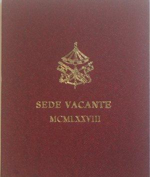 obverse: Vaticano.Sede Vacante 1978. 500 lire. Ag. Gig. 303. FDC. Confezione originale della zecca.