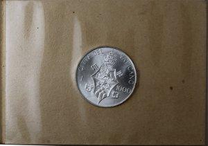 reverse: Vaticano. Giovanni Paolo I. 1000 lire 1978. Ag. Gig. 304. FDC. Confezione originale.