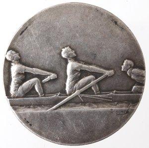 reverse: Medaglie. Francia. Medaglia 1930. Challenge F. Coucke. Ag. Opus Demey. Diametro mm. 25,50. qSPL.