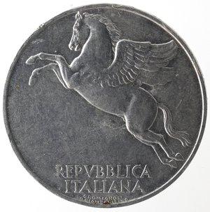 obverse: Repubblica Italiana. 10 lire 1948 Ulivo. It. Gig 231. BB. NC.