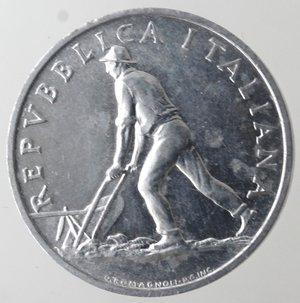 obverse: Repubblica Italiana. 2 lire 1948 Spiga. It. Gig 326. qFDC.
