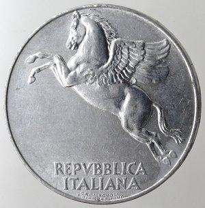 obverse: Repubblica Italiana. 10 Lire 1949 Ulivo. It. Gig 232. qFDC.