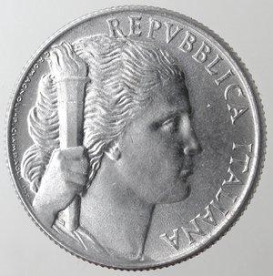 obverse: Repubblica Italiana.  5 lire 1949 Uva. It. Gig 280. qFDC.