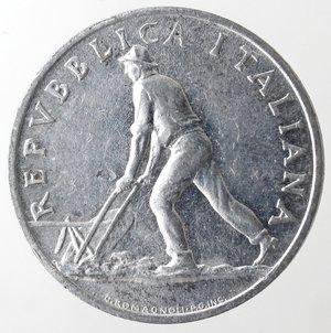 obverse: Repubblica Italiana. 2 lire 1949 Spiga. It. Gig 327. SPL+. NC.