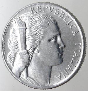 obverse: Repubblica Italiana. 5 lire 1950 Uva. It. Gig.281. SPL.