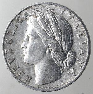 obverse: Repubblica Italiana.1 Lire 1950 Arancio. It. Gig 365.BB+.