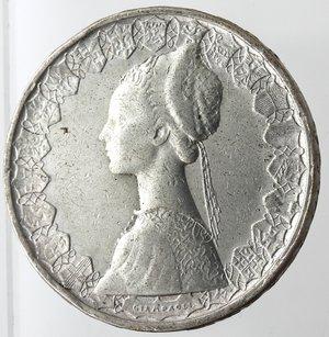 obverse: Repubblica Italiana. 500 lire Caravelle 1961. Ag. Gig 11. MB+.