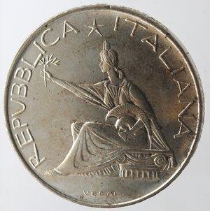 obverse: Repubblica Italiana. 500 Lire 1961 Unità d Italia. Ag. Gig. 41. qFDC.