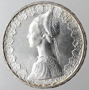 obverse: Repubblica Italiana. 500 lire Caravelle 1965. Ag. Gig 13. qFDC.