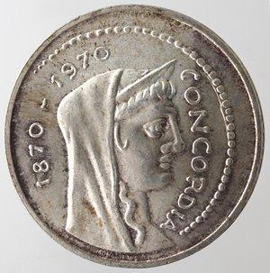 obverse: Repubblica Italiana. 1.000 lire Roma Capitale 1970. Gig. 1.  FDC.