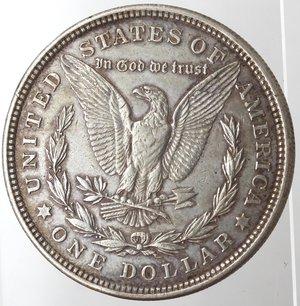 reverse: Monete Estere. Usa. Dollaro Morgan 1921. Ag. 900. Peso gr. 26,74. BB.