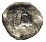 R/ Impero Romano. Adriano. 117-138 d.C. Denario. D/ HADRIANVS AVG COS III P P, Testa laureata verso destra. R/ Incuso . Peso 2,86 gr. Diametro 17,65 mm. qSPL. R.