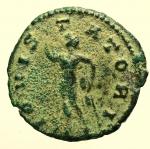 R/ Impero Romano Claudio II il Gotico (268-270 d.C.) Antoniniano : D/ IMP C CLAVDIVS AVG busto radiato verso destra. R/ IOVI STATORI stante nudo con fulmine e scettro. RIC.52.Peso 3,9 g. Diametro 20 mm BB+.