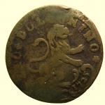 R/ Zecche Italiane : Bologna. Benedetto XIII 1724-30 Mezzo Bolognino 1725