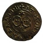 D/ Zecche Italiane. Casale. Vincenzo I. 1587-1612. Quattrino. Peso 0,71 gr.MIR 312. BB+.__