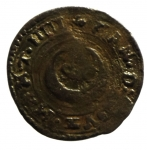 R/ Zecche Italiane. Casale. Vincenzo I. 1587-1612. Quattrino. Peso 0,71 gr.MIR 312. BB+.__