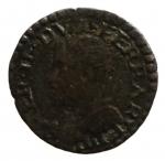 D/ Zecche Italiane. Ferrara. Ercole II (1534-1559). Sesino con l'aquila. CNI 96÷107.MIR 302. MI. Peso 0,97 gr. qBB.__