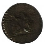 R/ Zecche Italiane. Ferrara. Ercole II (1534-1559). Sesino con l'aquila. CNI 96÷107.MIR 302. MI. Peso 0,97 gr. qBB.__