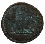 R/ Zecche Italiane. Ferrara. Ercole II (1534-1559). Sesino con l'aquila. CNI 96÷107. MI.Peso 0,93 gr. Variante FERRAR. MB+.__