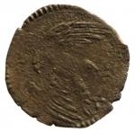 R/ Zecche Italiane. Ferrara. Alfonso II d'Este (1559-1597). Sesino. MIR 324. MI. g. 0.76 R. MB+.__