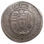 R/ Zecche Italiane -Firenze.Francesco III (1737-1765).1/2 francescone 1739.Gal. 4.AG.qBB. Raro