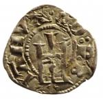 D/ Zecche Italiane. Genova.Denaro Minuto 1139-1339.D\IANVA Q D P Castello R\CONRADVS croce intersecata.Peso 0,60 gr.MIR 18.BB.R__