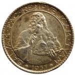 R/ Zecche Italiane. San Marino. 20 lire 1935. Ag. Gig. 5. SPL. Patinata. s.v.