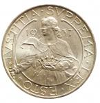 D/ Zecche Italiane.San Marino. Antica Monetazione. 10 Lire 1937. qFDC.