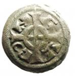 D/ Zecche Italiane. Verona. Federico II (1218-1250). Denaro piccolo. B.2970.Peso 0,38 gr. NC. MI. BB.__