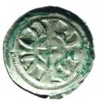 R/ Zecche Italiane. Verona. Federico II (1218-1250). Denaro piccolo. B.2970.Peso 0,38 gr. NC. MI. BB.__