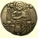 D/ Zecche Italiane. Venezia : Giovanni Soranzo (1312-1328) Grosso BB+